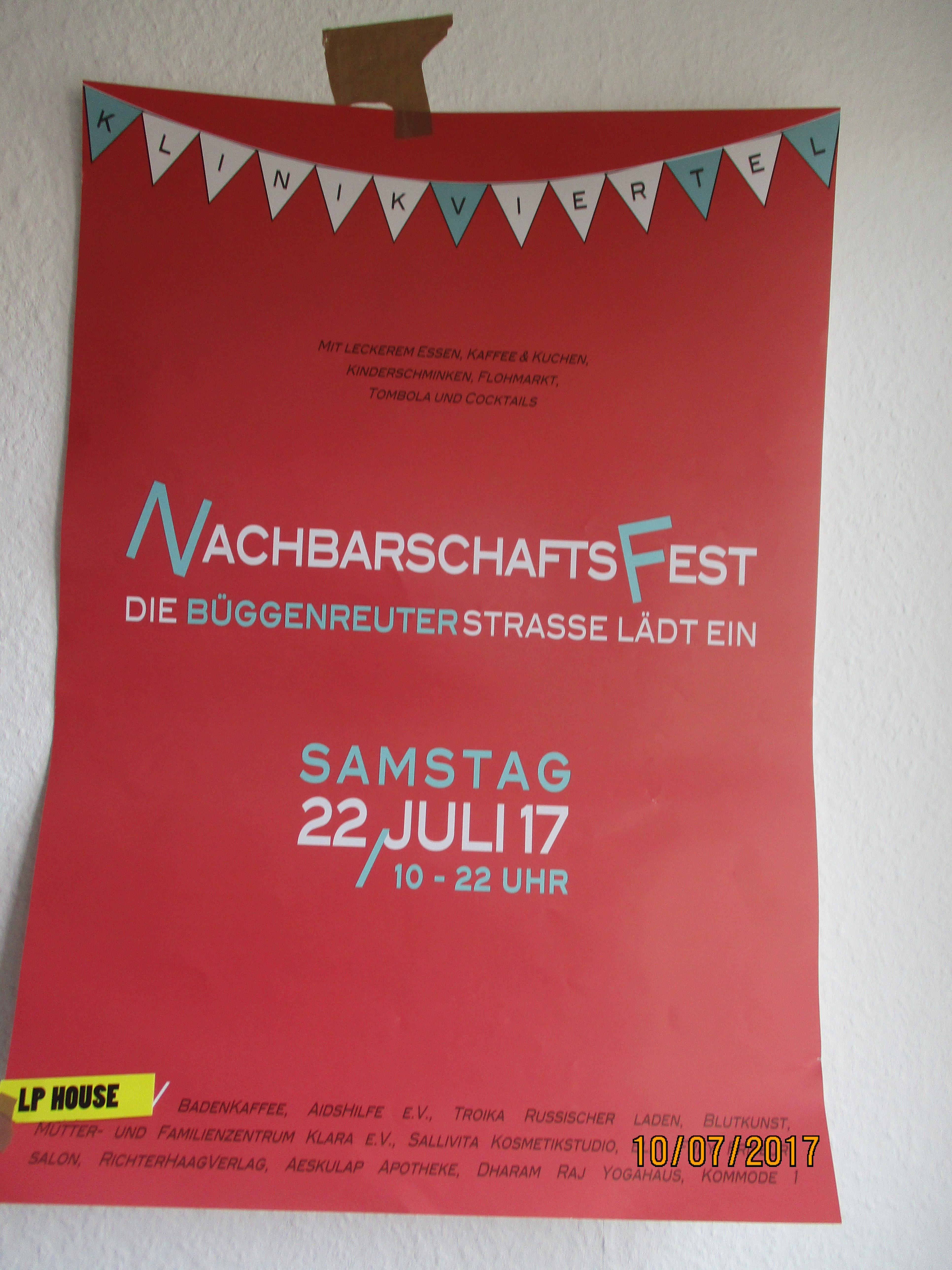 BÜGGENREUTER STRAßE FEST